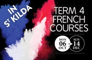 Term 4 French courses in St Kilda