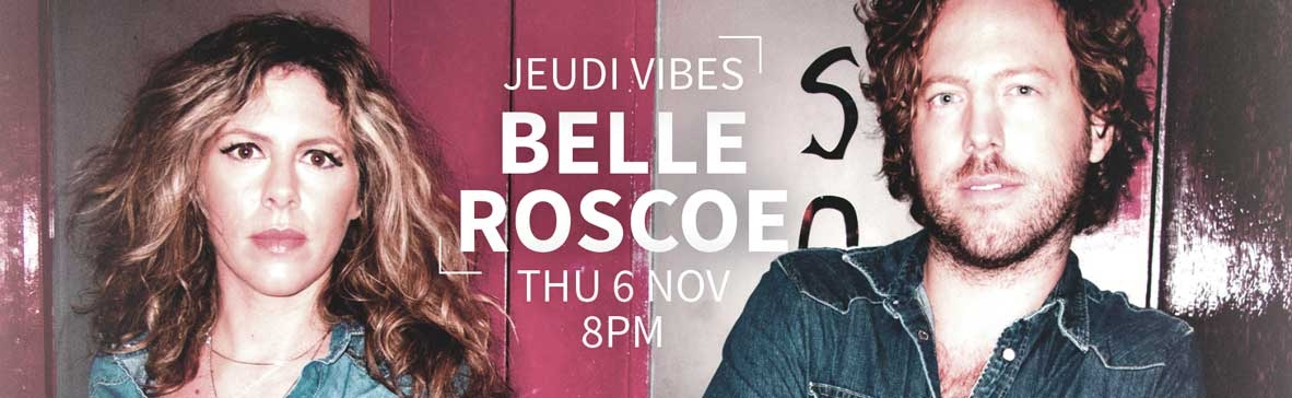 Our next Jeudi Vibes with Belle Roscoe