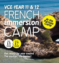 VCE immersion camp 2013 - Click to enlarge picture.