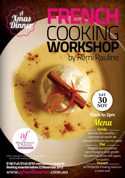 French Cooking Workshop - 30 November 2013 - Click to enlarge picture.