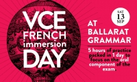 cancelled - VCE French Immersion Day in regional Victoria - 13 September 2014 - Click to enlarge picture.