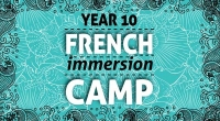Year 10 French Immersion Camp 2014 - Click to enlarge picture.