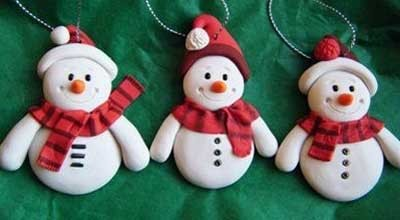 POLYMER CLAY XMAS WORKSHOP (CHILDREN)