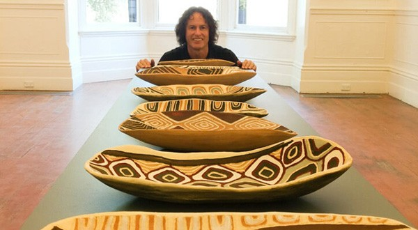 Indigenous artwork takes up residence at the Alliance Française