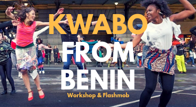 Kwabo from Benin at Melbourne Fringe