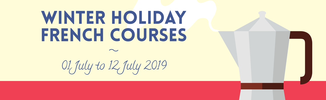 Winter Holiday Courses - 2019