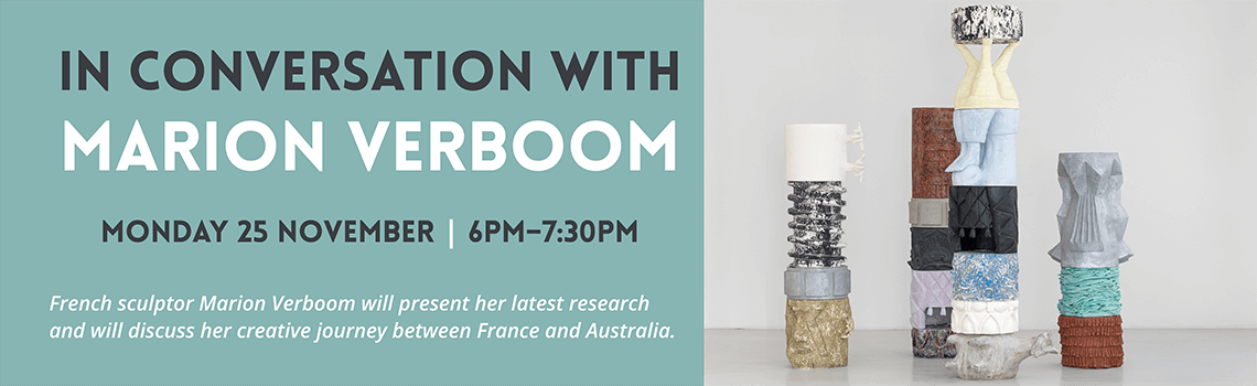 In conversation with Marion Verboom