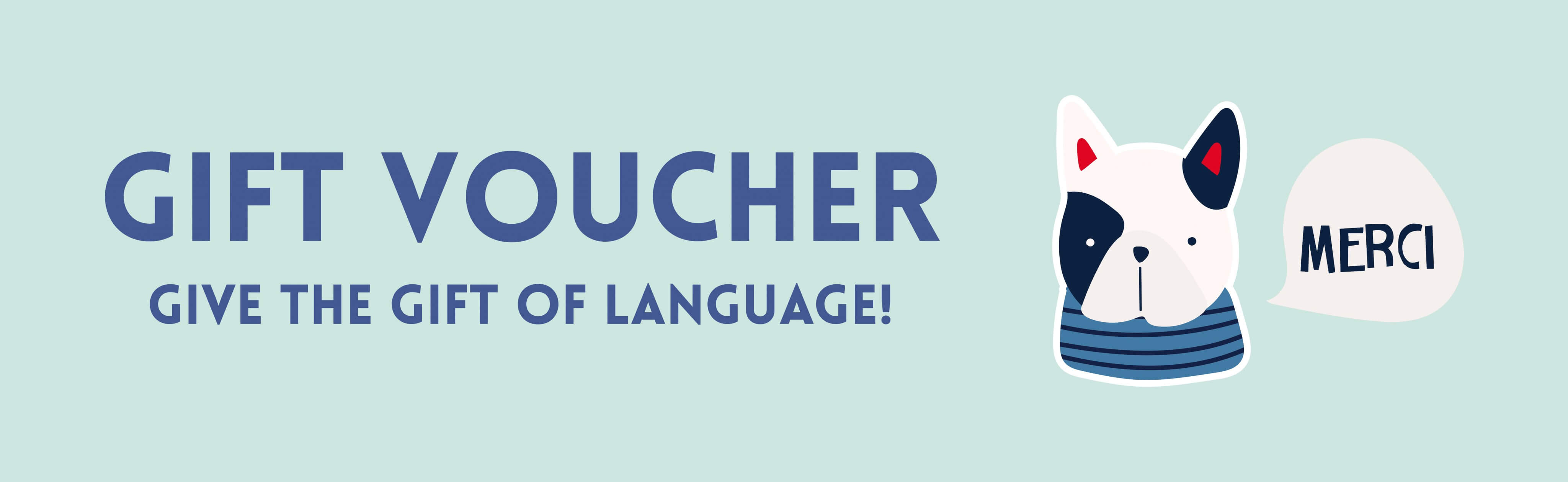 Gift Voucher Learn French