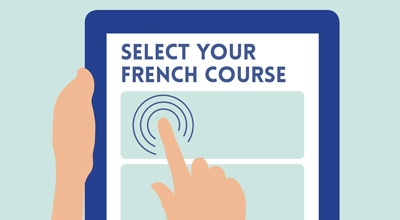 Select your French course